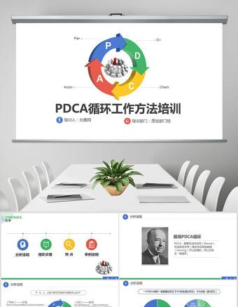 PDCA循環工作方法服務禮儀培訓案例分析ppt