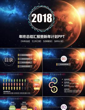 2018震撼星空IOS个人部门工作汇报年中计划总结