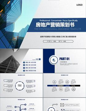 房地产网络营销策划书ppt模板