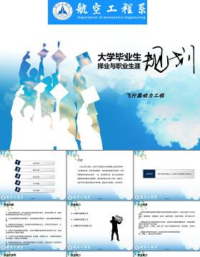 大学生职业生涯规划PPT范文