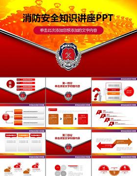 消防安全知识讲座ppt