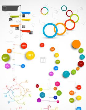 数据PPT素材矢量图形图标