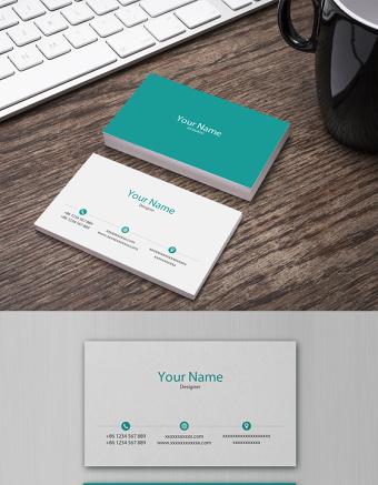 商務名片模板個人名片設計