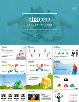 社区物业O2O系统策划营销计划书ppt