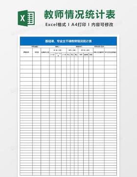 机关事业单位离退休人员待遇情况统计表Excel表格