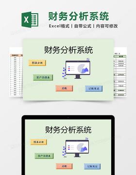 企业财务报表分析系统