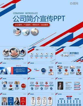2019公司简介PPT模板
