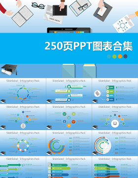 2019数据图表合集PPT模板