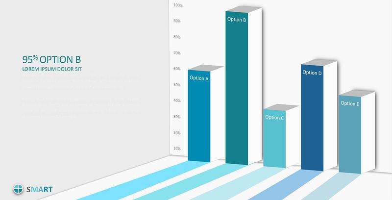 原创450页数据分析商务通用信息图表合集模板